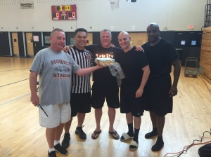 Left to Right: Pat Devaney, Senh Lee, Mike Naparlo, George Mangoral, Dujuan Jones