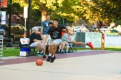 St. Peter's Prep defeated Matawan 50-20 in a Hamilton Park Summer League basketball game on Monday, July 9, 2018. St. Peter's Prep Jadon Cabel dribbles down the court.
